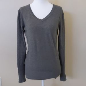 Gray sweater by Chelsea & Theodore